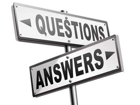 questions and answers your questions my