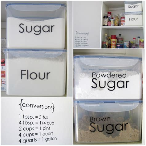 Custom Pantry Labels by By Sprucing Up The Pantry With Vinyl