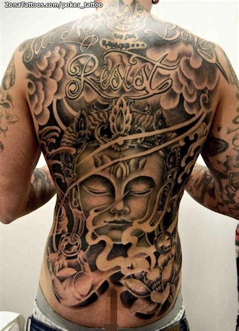 tattoo oriental espalda tatuaje de budas orientales espalda