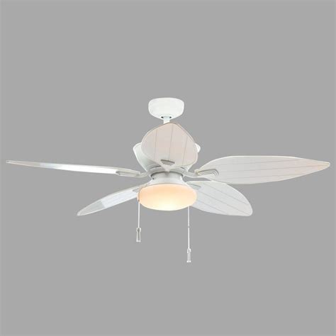 home depot white ceiling home decorators collection palm cove 52 in led indoor