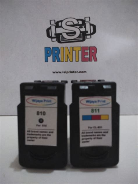 Canon 810811 Paketan canon cl 811 color ink cartridge cl811 isi printer shop