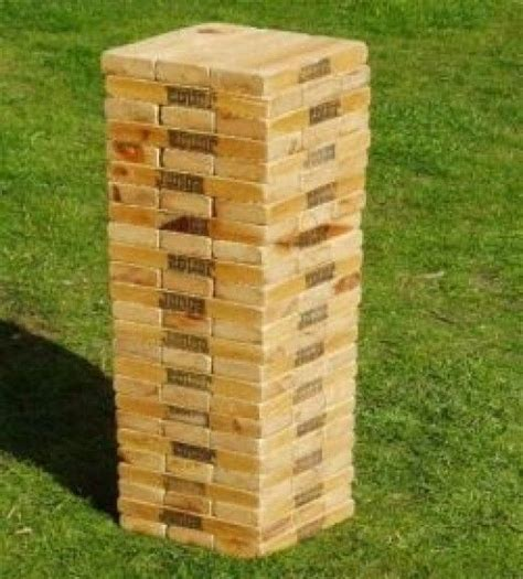 how to make backyard jenga 17 best ideas about life size jenga on pinterest diy