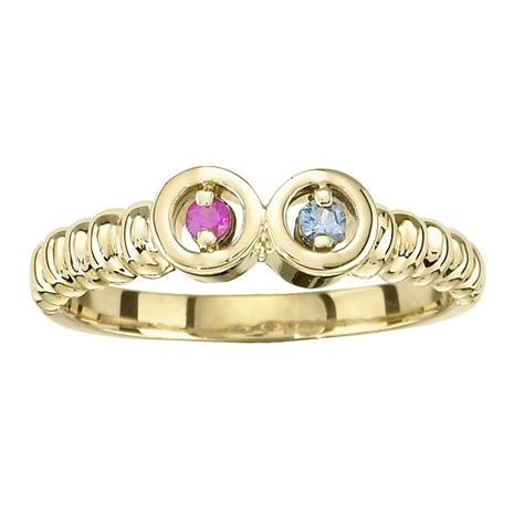 carinagems silver 1 to 7 stones s ring