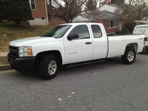 purchase used 2011 chevy silverado 1500 wt 4x4 with 8 bed