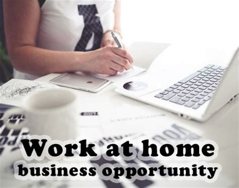 Online Business Work From Home Opportunity - work at home business opportunities the work at home how