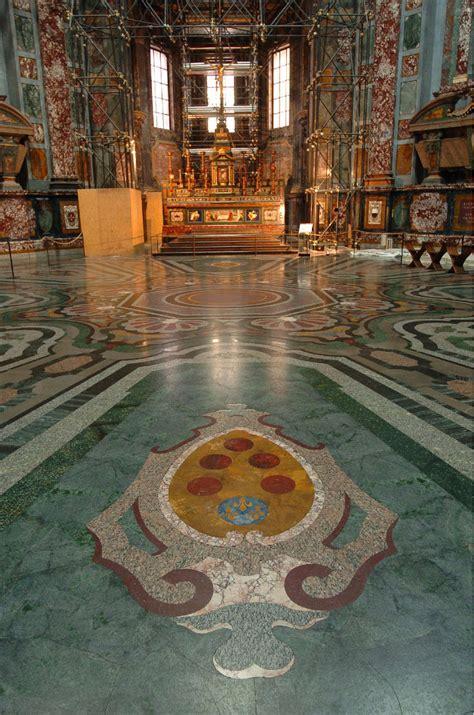 pavimento particolare particolare pavimento cappella dei principi opera