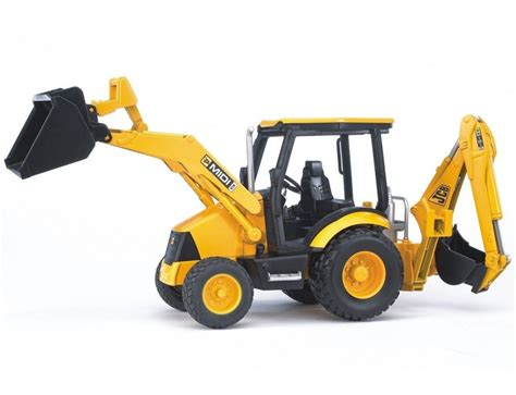 bruder farm toys bruder toys jcb midi backhoe loader model 02427 farm