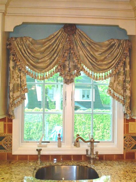 Swag Curtains For Kitchen Windows 60 Best Images About Creative Window Treatments On Window Treatments The Window And