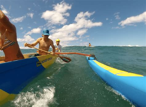 boat browser full screen maui canoe surfing tours surf with an outrigger canoe