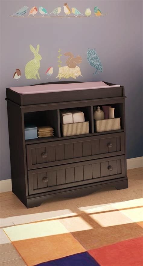 south shore changing table with drawers gray maple south shore changing table with drawers by oj commerce