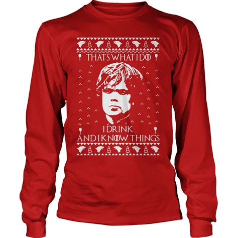 Sweater Drink tyrion lannister i drink sweater
