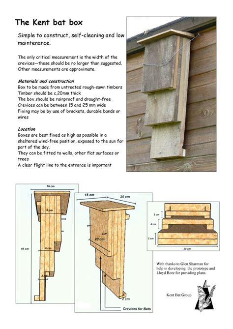 Welcome To The Green Heart Den Bat Boxes Small House Plans With Bat