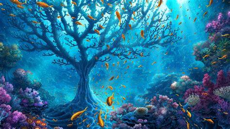 underwater hd wallpaper 1920x1080 1920x1080 underwater world fantasy desktop pc and mac