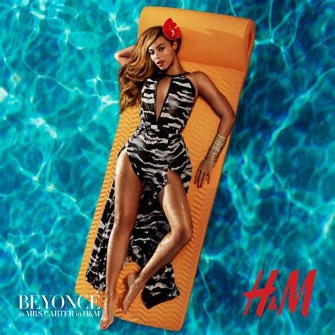 beyonce h m song beyonce pose pour h m love it or hate it