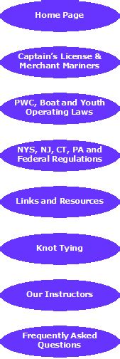pa boating license class nys nj ct pa and federal regulations