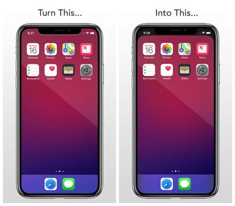 notcho and notch remover are here to remove the iphone x black notch zing gadget