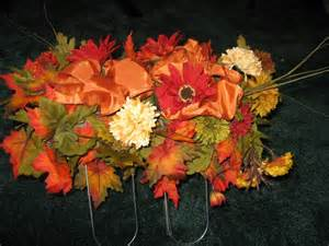 How To Make Flower Arrangements How To Make A Gravestone Flower Arrangement The Saddle