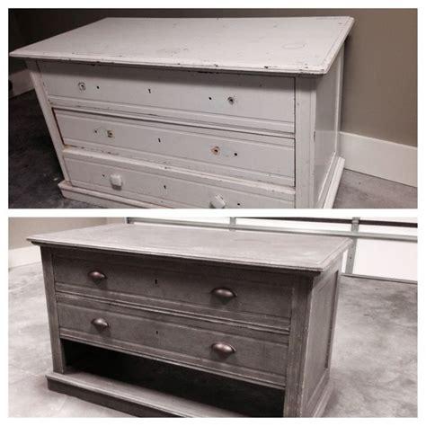 gray distressed dresser diy diy dresser refurbished into stand i love the grey