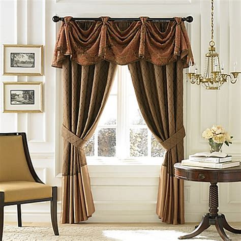 croscill window curtains croscill 174 couture palazzo window curtain panel and valance