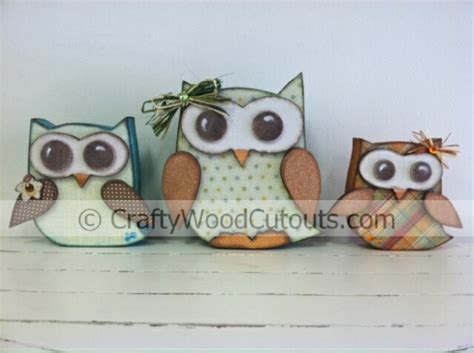 owl craft projects new fall and owls wood craft projects crafty wood cutouts