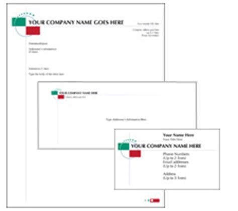 Word Business Card Template A4 by Corporate Identity Templates In Color Themes In Adobe Acrobat