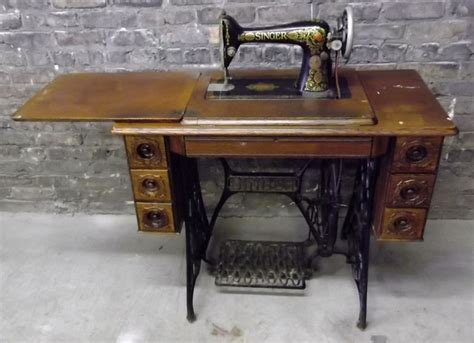 singer sewing machine cabinet styles antique singer treadle sewing machine in cabinet antique