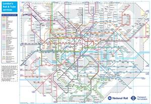 railway map map national rail