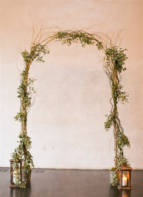 Wedding Arch Vases by Curly Willow Wedding Arch Easy Setup Vases