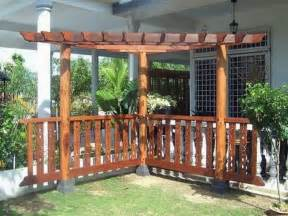 Pergola Decor by Wood Corner Pergola Shade Attached To House For Patio