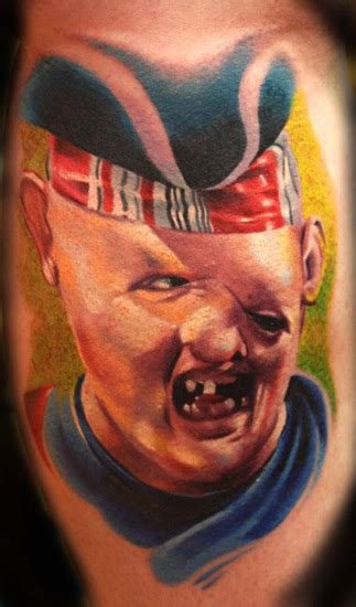 goonies tattoo of the year e t 171 robby