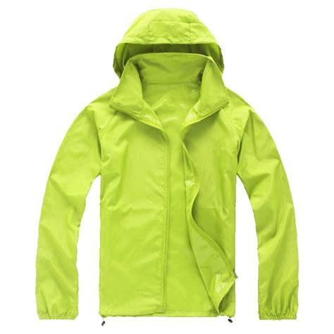windproof and waterproof cycling jacket unisex casual waterproof cycling rain coat running quick