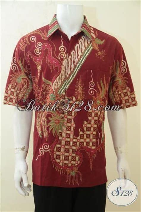 desain baju batik lengan pendek hem batik tulis desain motif bagus banget baju batik
