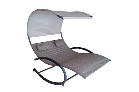 chaise rocker vivere double chaise rocker sienna poolsupplies com