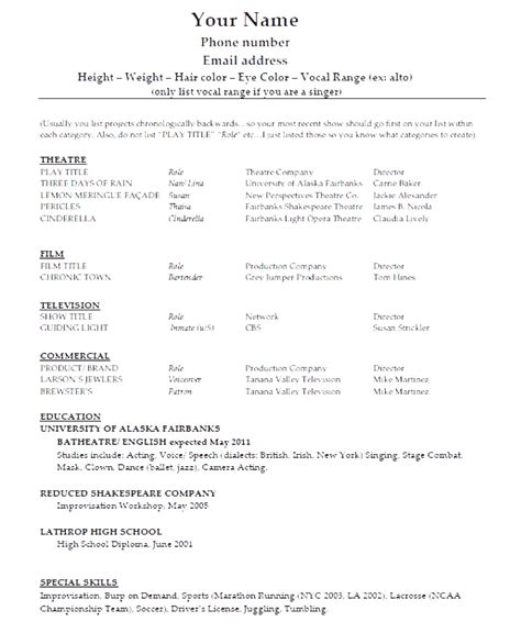 basic resume template australia 28 images resume sles