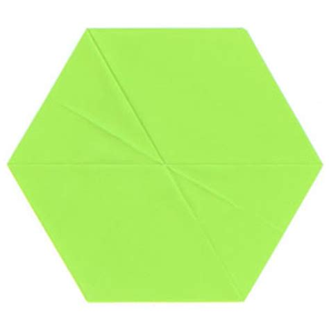 How To Make A Hexagon Out Of Paper - how to make a regular pentagon out of square paper page 5