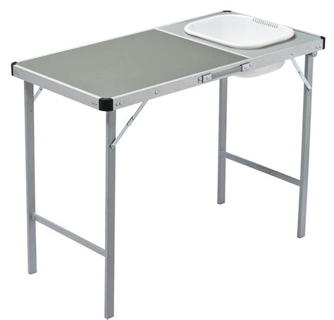 folding table with sink c kitchens and stove stands getaway outdoors