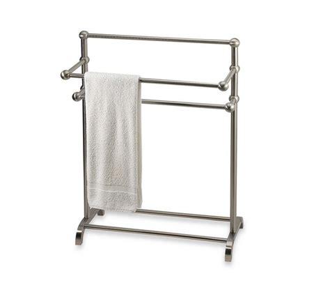 bathroom valet stand bathroom towel valet bath bathrobe bar rack floor stand