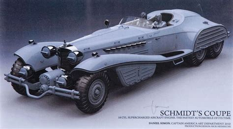 Coupe Tige Filetée 1600 by Captain America The Avenger Hydra Vehicle Concept