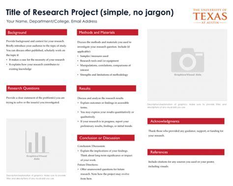 Research Design Template Undergraduate Research Undergraduate Studies