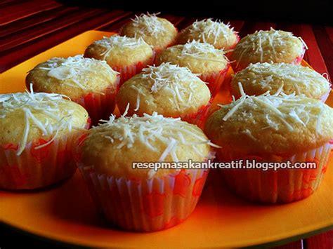 resep  membuat muffin keju panggang praktis aneka