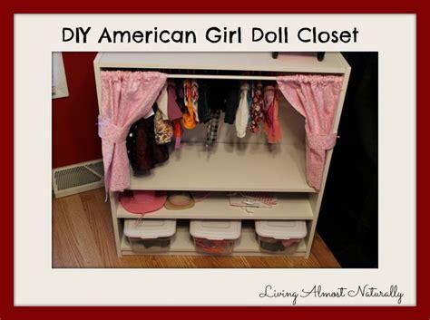 diy american doll closet for