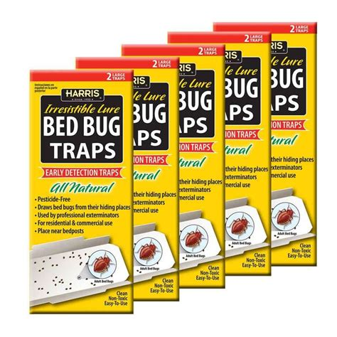 bed bug trap harris bed bug trap value pack bbtrpvp the home depot