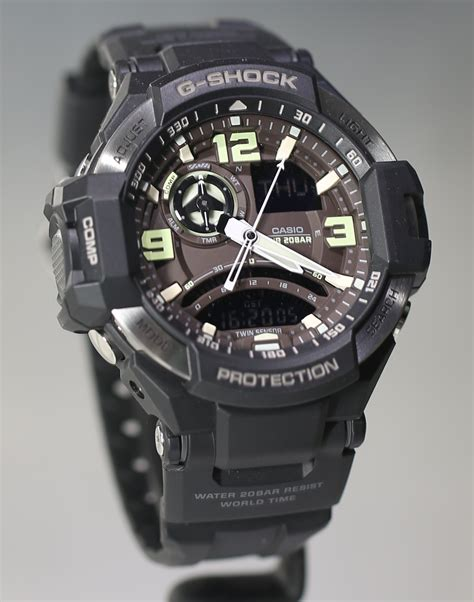 G Shock Gpg 1000 Black baselworld 2013 casio s newest g shock gravity defier aviator watches ablogtowatch