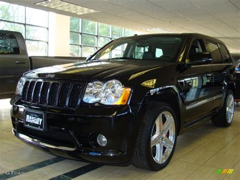 jeep srt 2009 2009 brilliant black crystal pearl jeep grand cherokee srt