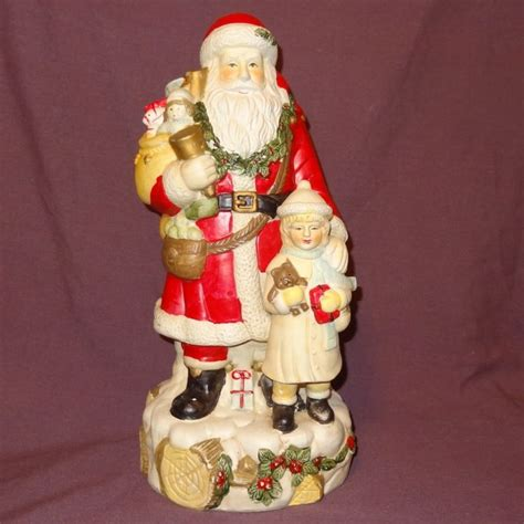 vintage santa claus figurines shop collectibles online daily