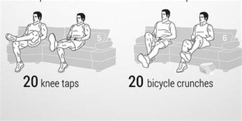 exercises to do on the couch get fit while watching tv neila rey