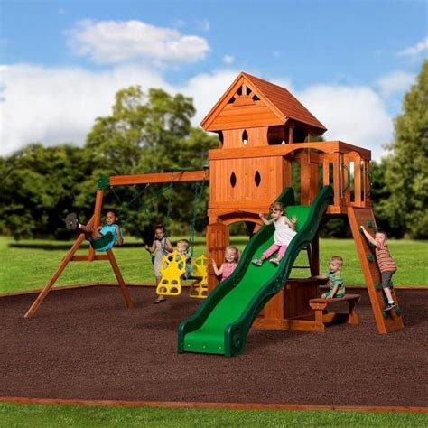 backyard discovery monterey monterey swing set by backyard discovery 752113960121