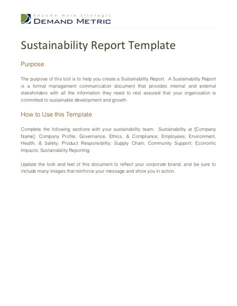 environmental sustainability report template sustainability report template 1 728 jpg cb 1354788669