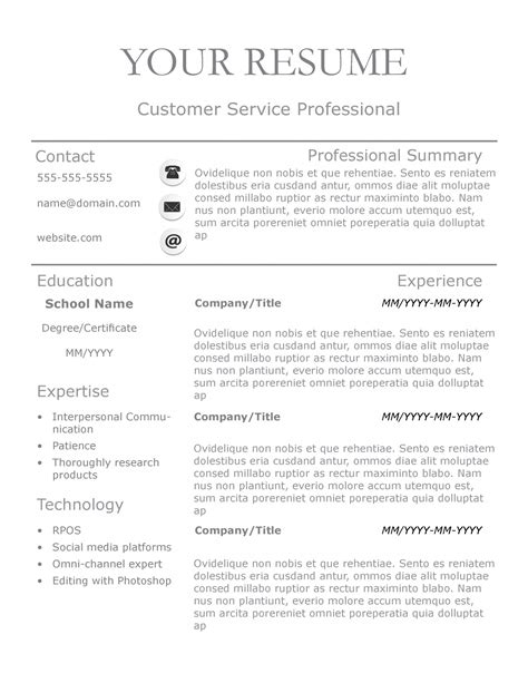Resume Template Lines by New Slick Resume Templates Pack The Grid System