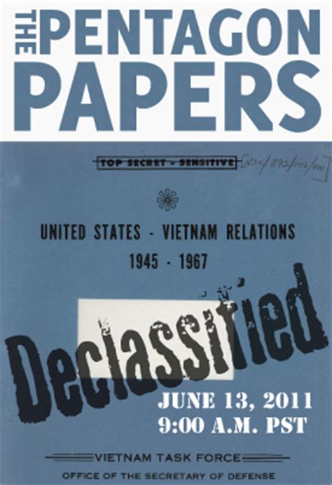 the pentagon papers the secret history of the war books pentagon papers declassified